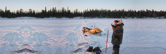 MT in the search for diamond-bearing kimberlite pipes